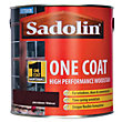 Sadolin Advanced One Coat Woodstain - Jacobean Walnut - 2.5L