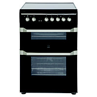 Indesit ID60C2K S Freestanding Cooker - Black