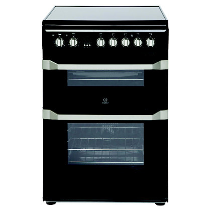 Image for Indesit ID60C2K S Freestanding Cooker - Black from StoreName