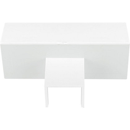 Image for Schneider INS20127 Electric Mini Trunking Unequal Tee - White - 16x16x25x16mm from StoreName