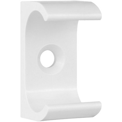 Image for Schneider ISM80223 Electric Oval Conduit Clips - White - 20mm from StoreName