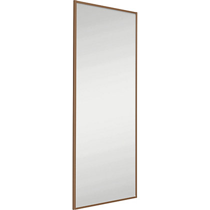 Image for Classic Wood Windsor Oak Frame Mirror Sliding Door - 762mm from StoreName