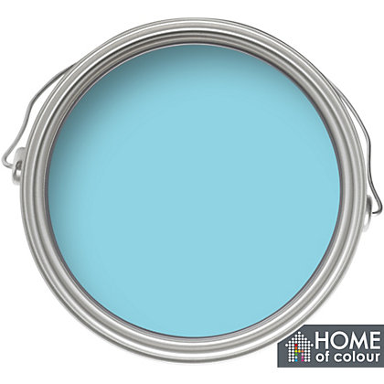 Image for Home of Colour Kitchen and Bathroom Azure - Soft Sheen Emulsion Paint - 75ml Tester from StoreName