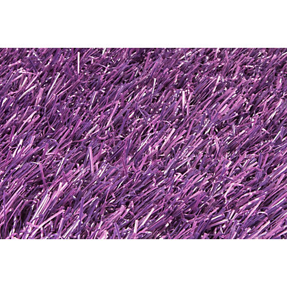 Image for Nomow Rainbow Artificial Grass - Purple - 2m Width Roll from StoreName