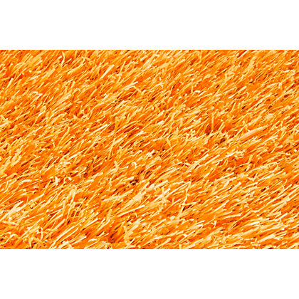 Image for Nomow Rainbow Artificial Grass - Orange - 2m Width Roll from StoreName