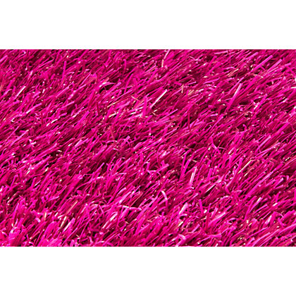 Image for Nomow Rainbow Artificial Grass - Pink - 2m Width Roll from StoreName