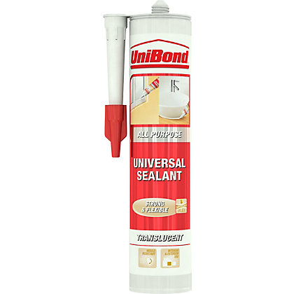 Image for UniBond All Purpose Sealant - Transparent - 300ml from StoreName