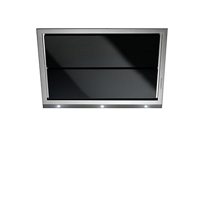 Image for Falmec Gleam Wall-Mounted Hood - 90cm - Black Glass from StoreName
