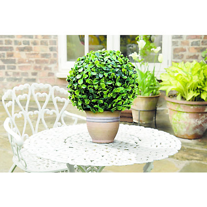Image for Topiary Leaf Effect Ball - 15cm from StoreName