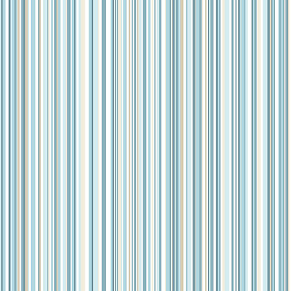 Image for Home of Colour Martez Stripe Wallpaper - Teal from StoreName