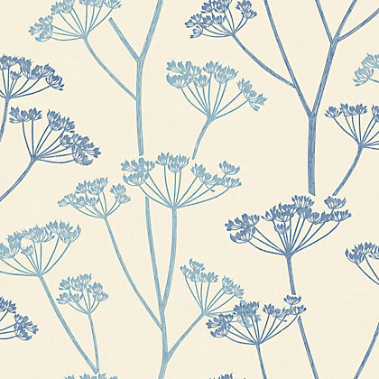 Image for Fine Decor Albury Wallpaper - Blue from StoreName