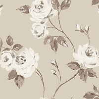 Fine Decor Romance Wallpaper - Neutral