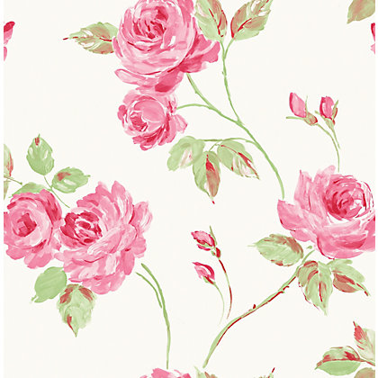 Image for Fine Decor Romance Wallpaper - Pink from StoreName