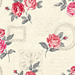 Fine Decor Venitia Wallpaper - Red