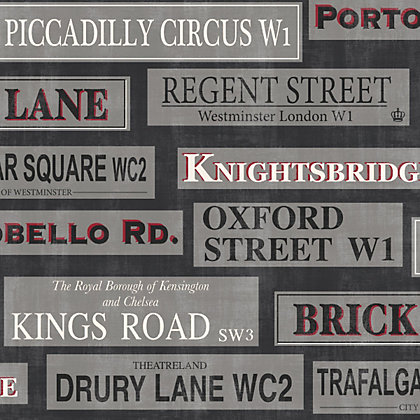 Image for Fine Decor Streets of London Wallpaper from StoreName
