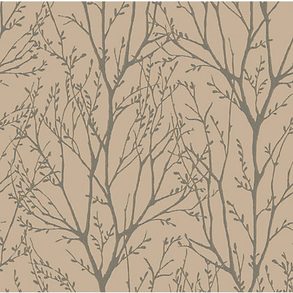 Image for Fine Decor Delamere Copper Grey Wallpaper from StoreName