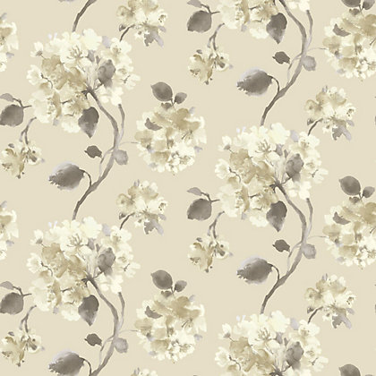 Image for Gran Deco Aquarelle Motif Wallpaper - Neutral from StoreName