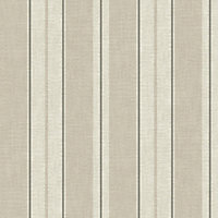 Gran Deco Atelier Stripe Wallpaper - Neutral