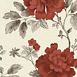 Gran Deco Botanical Garden Wallpaper - Red