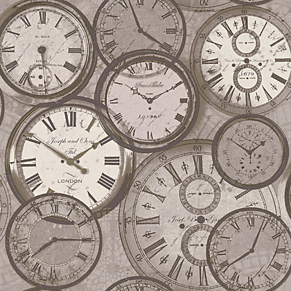 Image for Grandeco Time Neutral Wallpaper from StoreName
