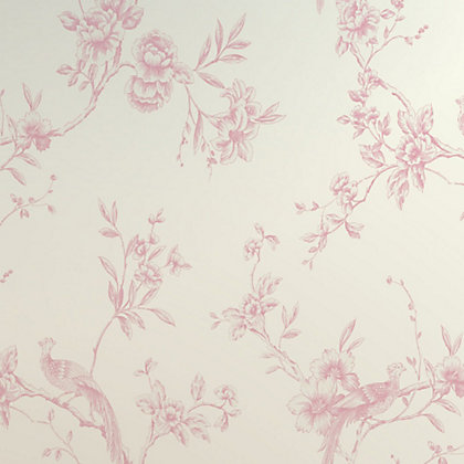 Image for Opera Chinoise Wallpaper - Pink from StoreName