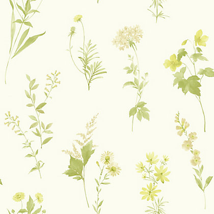Image for Opera Botanical Wallpaper - Green from StoreName