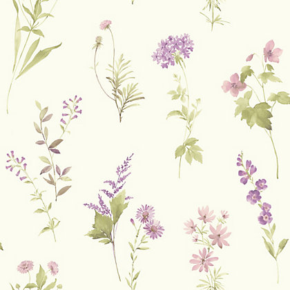 Image for Opera Botanical Wallpaper - Lilac from StoreName