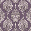 Home of Colour Damask Stripe Wallpaper - Plum