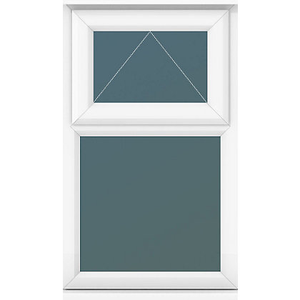 Image for Top Over Fixed Lite Clear Glass - (W)610 x (H)1040mm from StoreName