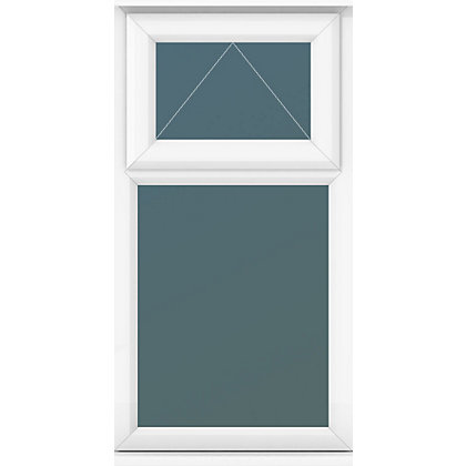 Image for Top Over Fixed Lite Clear Glass - (W)610 x (H)1190mm from StoreName