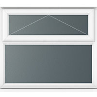 Top Over Fixed Lite Obscure Glass - (W)1190 x (H)1040mm
