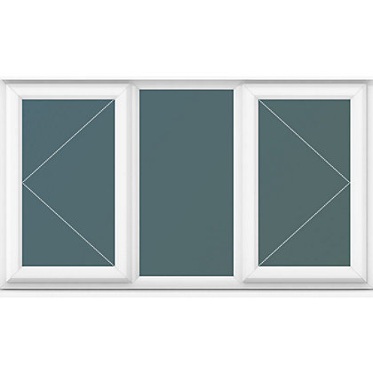 Image for Double Side Hung Casements Clear Glass - (W)1770 x (H)1040mm from StoreName
