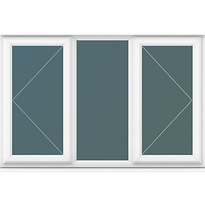 Image for Double Side Hung Casements Clear Glass - (W)1770 x (H)1190mm from StoreName