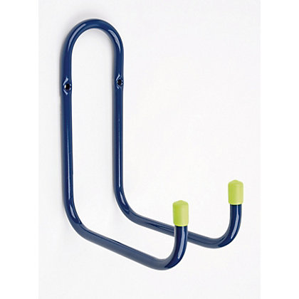 Image for Utility Double Hook - Blue and White - 160mm from StoreName