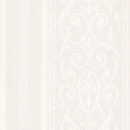 Image for Superfresco Stripe Wallpaper - White from StoreName