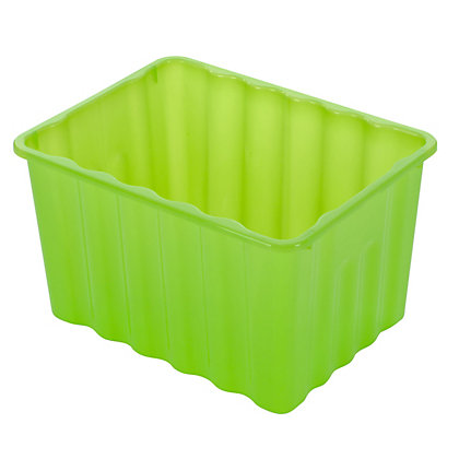 Image for Multipurpose Plastic Storage Box - Green from StoreName