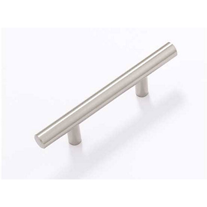 Image for T-Bar Cabinet Door Handle - Satin Nickel - 64mm from StoreName