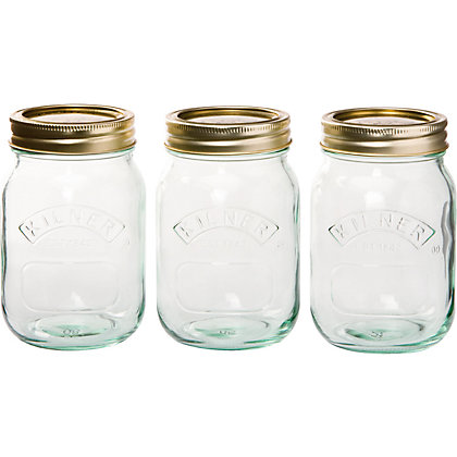 Image for Kilner Screw Top Jars 0.5L - Set of 3 from StoreName