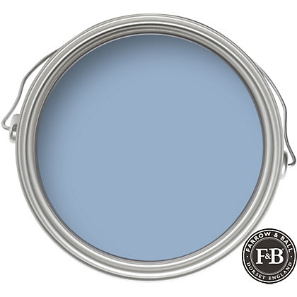 Image for Farrow & Ball Estate No.89 Lulworth Blue - Matt Emulsion Paint - 2.5L from StoreName