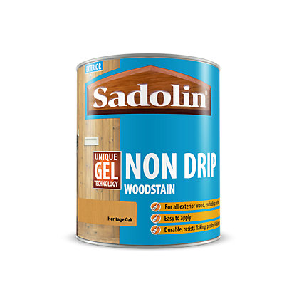 Image for Sadolin Non Drip Woodstain Heritage Oak - 2.5L from StoreName