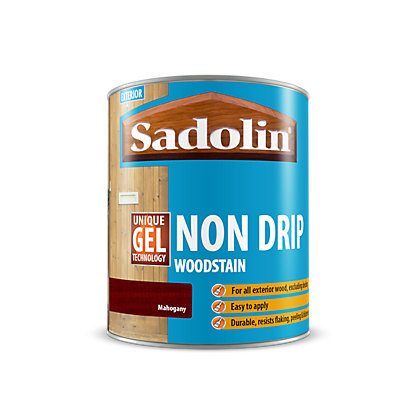 Image for Sadolin Non Drip Woodstain Mahogany - 2.5L from StoreName