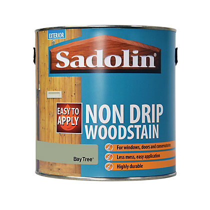Image for Sadolin Non Drip Woodstain Bay Tree - 2.5L from StoreName