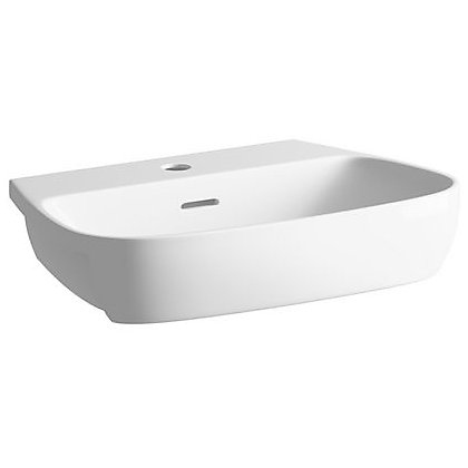 Image for Sparkle Semi Recessed Basin - 1 Tap Hole from StoreName