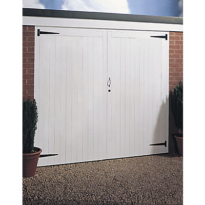 Image for Timber Side Hung Garage Door - 2134mm Wide from StoreName