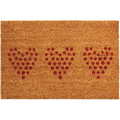 Image for Homebase Stencilled PVC Coir from StoreName