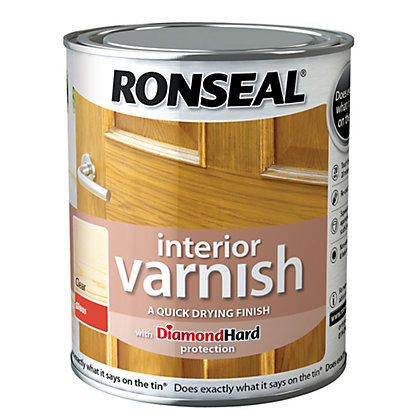Image for Ronseal Interior Varnish Gloss - 250ml from StoreName