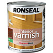 Ronseal Interior Varnish Matt Dark Oak - 250ml