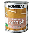 Ronseal Interior Varnish Matt White Ash - 250ml
