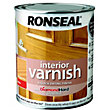 Ronseal Interior Varnish Gloss Antique Pine - 750ml