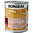 Ronseal Interior Varnish Gloss Teak - 750ml